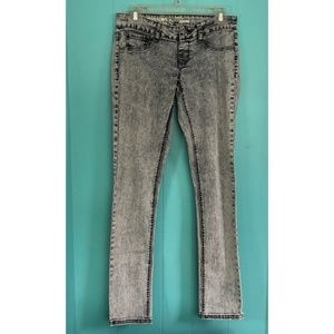 Mossimo Supply Co. Jeans - Mossimo Supply Co. Light Gray Acid Wash Jeggings